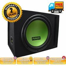 "Fusion 12"" Subwoofer with Ported Subwoofer Enclosure"