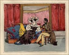 Jean-Gabriel Scheffer Coquetterie Adultère Amants lithographie Langlumé