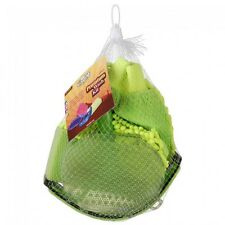 Tough 1 neon green premium four piece wash kit horse tack equine