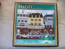 LES CHIENS DE PARIS Dogs by Jane Wooster Scott  - Mattel 1000 piece puzzle - NIB