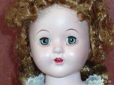 vintage 16in hard plastic walker doll-marked 160 (Horsman Doll)