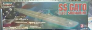 LINDBERG SS GATO FLEET SUBMARINE 70885 MILITARY MODEL KIT new in the box