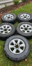 Toyota Prado 120 Series Wheels / Rims / Tyres