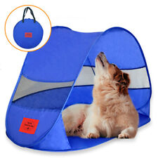 Pop Up Dog Shade and Beach Tent Shelter Outdoor Uv Sun Protection Camping Yard