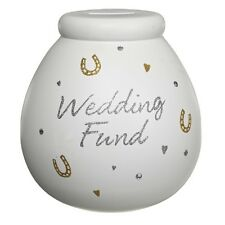 Wedding Fund Pot of Dreams Engagement Gift Save Up & Smash Money Box Pots Gifts