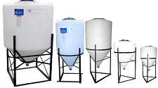 Cone Bottom Plastic Inductor Tank Water Treatment Biodiesel Processor