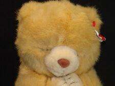 CUTE 1995 TY HOPE BEANIE BUDDY TAN BEAR PLUSH #5601 MWT PLUSH STUFFED ANIMAL TOY