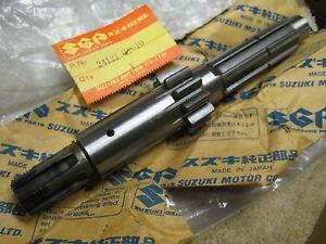 SUZUKI TS250/DS250 ENGINE COUNTER SHAFT ASSEMBLY NOS!