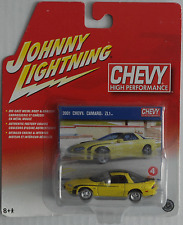 Johnny Lightning -'01/2001 Chevy Camaro zl1 Giallo Nuovo/Scatola Originale