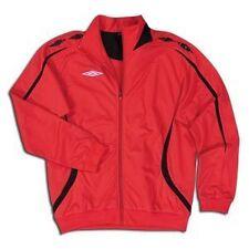 Umbro Fusion Jacket Red Soccer SZ AXL