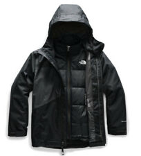 NWT The North Face Boys' Clement Triclimate Jacket Black Size XL