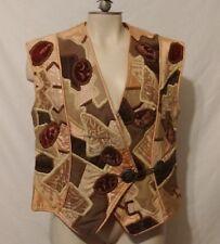 LA COLECCION JUDITH ROBERTS Hecho En Mexico, Vintage 1980's Vest OOAK