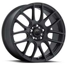 "17"" A2 Mesh Black Wheels Rims Tires Package 5x4.5 5x114.3 Hyundai Veloster"
