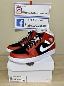 100% Authentic Nike Air Jordan 1 mid Gym Red US10W (27cm)