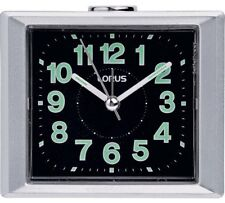 Lorus Sweeper Alarm Clock Analogue Clock With A Bold Numbered Display Face NEW