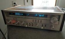 Vintage Pioneer Stereo Receiver Model SX-3700 Flouroscan Meters NICE!