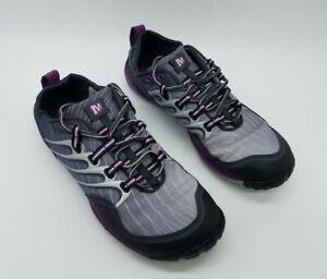 Merrell Lithe Glove Dark Shadow Women's Barefoot Trail Running Shoes Size 9