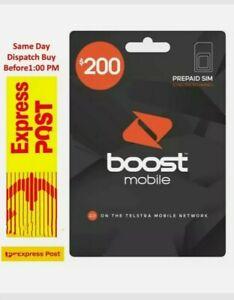Cheapest Boost mobile $200 100 GB Data Prepaid SIM CARD Starter Kit