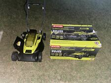 New listing Ryobi 18 in. 40-Volt 2-in-1 Lithium-Ion Cordless Battery Walk Behind Push Mower