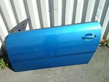 VAUXHALL TIGRA B PASSENGER SIDE N/S/F DOOR BLUE 21H 04-09