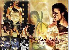 Michael Jackson gold History Tour banner Drapeau et taie d'oreiller + cadeau