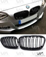 BMW 1 Série F20 F21 Pré LCI Noir Brillant Double Rein Grill Grille