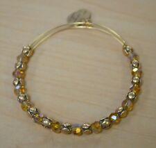 *Alex and Ani Snowbell Golden Days Bead Gold Tone Adjustable Bracelet