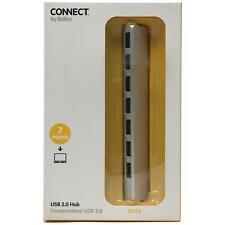Belkin F4U064YTAPL Powered Ultra Slim Aluminum Series 7-port USB 2.0 Hub