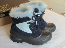 NEW RARE North Face Shellista Ladies Navy Blue Black Snow Boots Size 4 EU 37