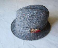 Donegal Handwoven Tweed Fedora Men's Size 6 3/4 Euc