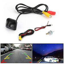 170°HD Car Rear View Cámara de reversa CDD Parking Camera Kit CMOS Night Vision,