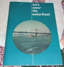 Vintage 1964 Worlds Fair Circle Line New York Tour Booklet Orig Owner Map Nice