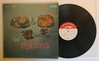 Rock 'N Roll With The Robins - 1958 US Mono 1st Press WLP 703 (VG+) In Shrink