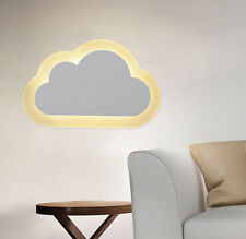Modern Cloud LED Chip Light Marquee Night Wall Mounted Warm White Lamp