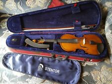 Stentor Student II 3/4 Violin with Case, bow, shoulder rest and rosins