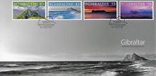GIBRALTAR 2007 PANORAMIC VIEWS SET FIRST DAY COVER