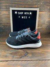 Adidas ARCHIVO Men's Walking Running shoes EF0436 Black Grey Red- NEW