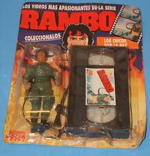 1987 JOCSA RAMBO COLONEL TRAUTMAN ACTION FIGURE MINT ON CARD
