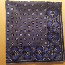 """Souleiado Provençal Print Cotton Voile Scarf/Bandanna 19"""" x 18 1/2""""  France"""