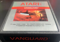 Vanguard  Vintage Video Game Cartridge Atari 2600 7800 VCS Sears Classic 1982
