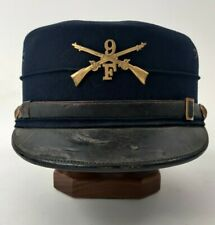 Original M1895 US Army 9th Infantry F Company Spanish American War Forage Cap