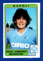 FIGURINA CALCIATORI PANINI 1984/85 N.203 DIEGO ARMANDO MARADONA REC/REMOVED RARE