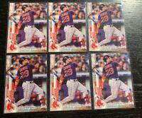 Michael Chavis Future Stars Lot(6) 2020 Topps Series 1 #130 Boston Red Sox