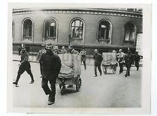 German History - Transporting Paper Money, Berlin - Vintage 7x9 Photograph