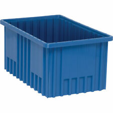 "Quantum DG92080BLUE Dividable Grid Container (8Pk) -16 1/2""L x 10 7/8""W x 8""H"
