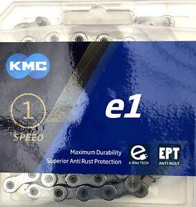 """KMC Chaîne De Vélo """"e1 EPT"""" vélo électrique/Rohloff argent 130 Maillons"""