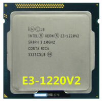 Intel Xeon E3-1220 V2 CPU Quad-Core SR0PH 3.1 GHz 8M 5 GT/s LGA 1155 Processor