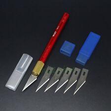 Aluminum Graver Burin Blade Set Knife Kit DIY Carving Craft PCB Art Wallpaper