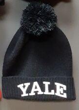 Stall & Dean Vintage Yale Beanie Knit Hat - Navy Blue