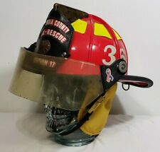 Cairns ESCAMBIA COUNTY FLORIDA STATION 17 FIRE RESCUE FIREFIGHTER HELMET